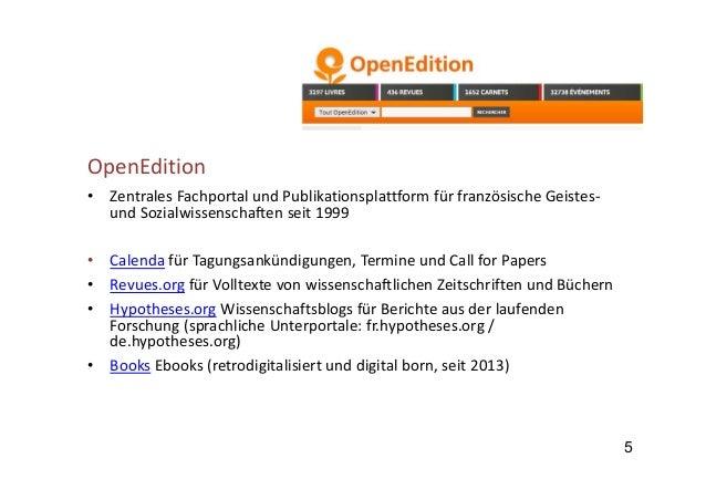 11 Cairn.info • FachportalfüreJournals vonvierfranzösischenVerlagenu.a.in ZusammenarbeitmitderBnF • Kommerziell...