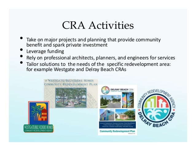 A Tale of Two CRAs: How Community Redevelopment Agencies in Florida I…
