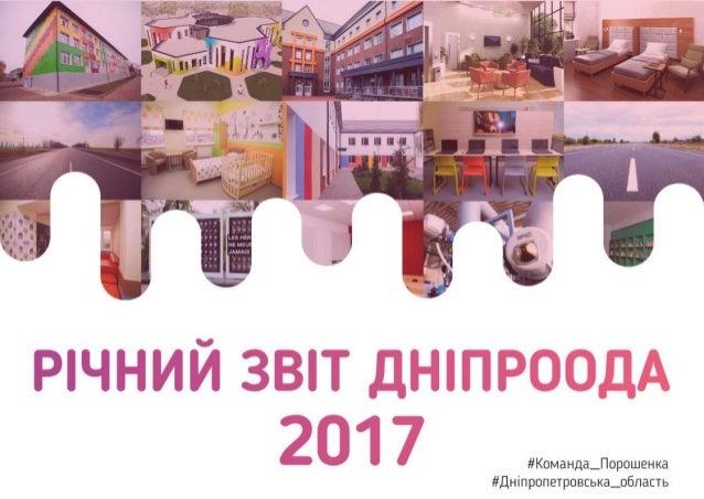 Річний звіт ДніпроОДА 2017