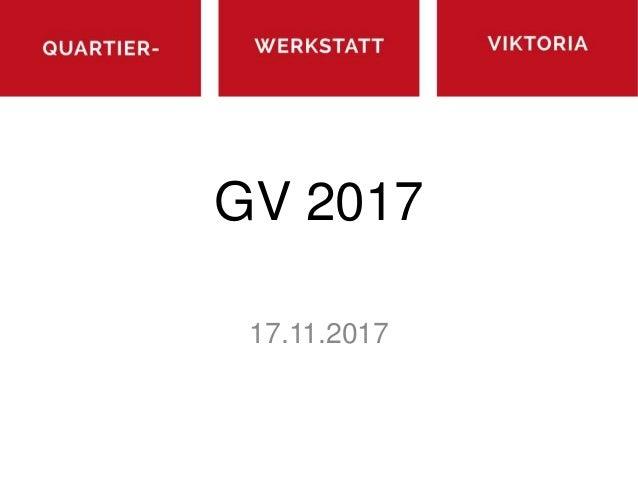 GV 2017 17.11.2017