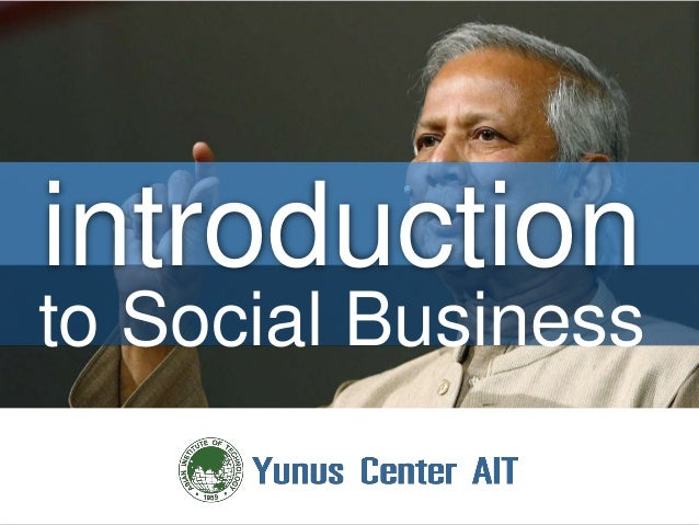 introduction to Social Business