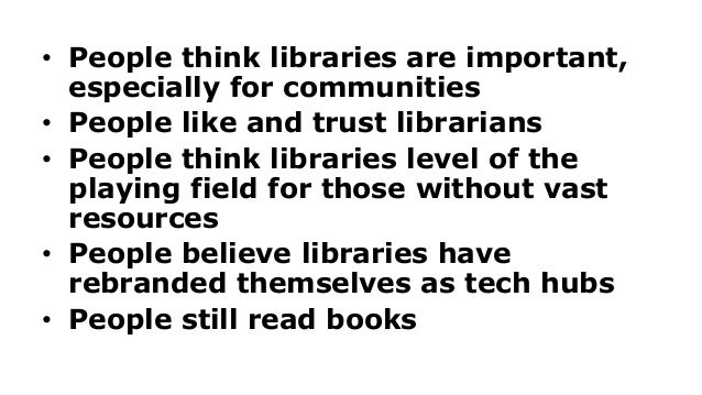 How People Fit Libraries Into Their Lives