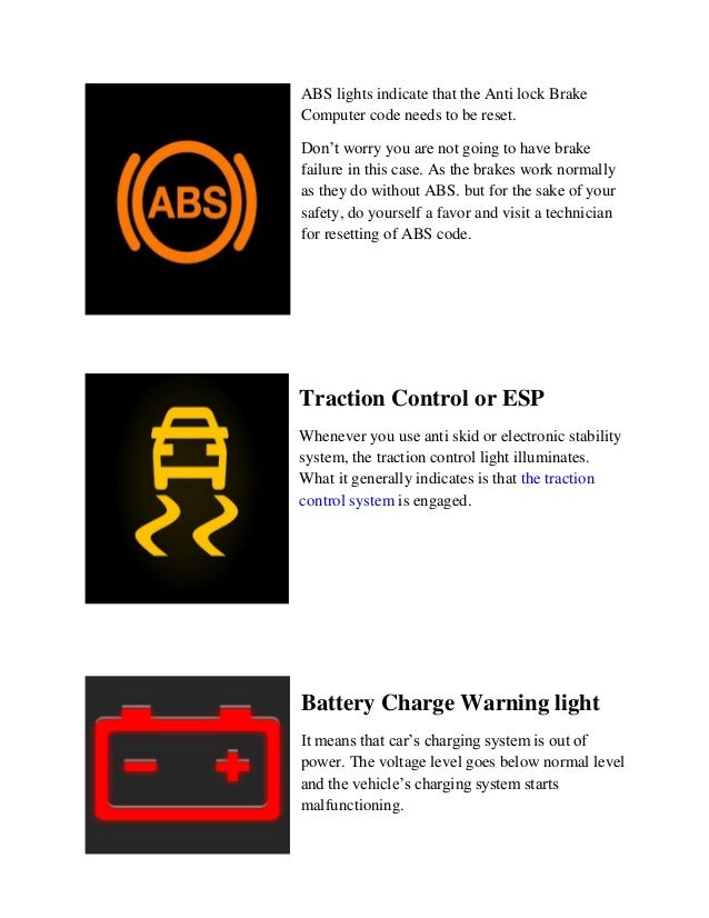 Parts avatar ca- auto performance parts- warning lights on