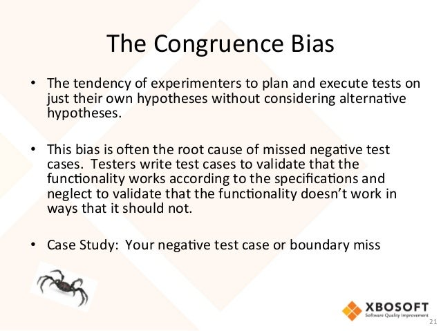 XBOSoft webinar - How Did I Miss That Bug - Cognitive Biases in Softw…