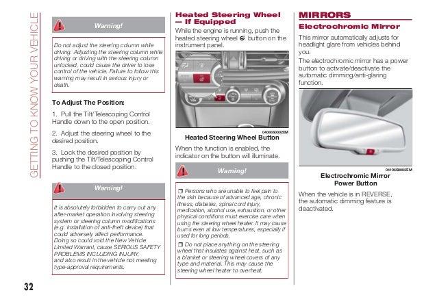 2017 Alfa Romeo Giulia Owners Manual