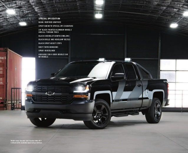 2017 Chevrolet Silverado Catalog