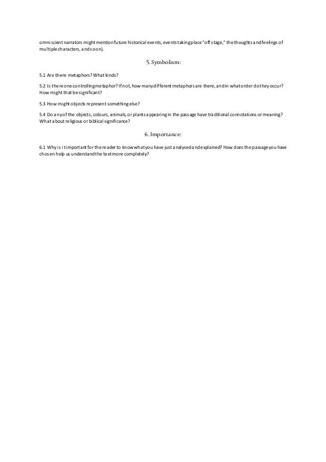 Close reading of a literary passage worksheet – Close Reading Worksheet