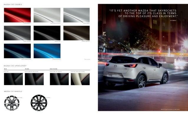 Jake Sweeney Mazda >> 2017 Mazda CX-3 Brochure | Cincinnati Mazda Dealer