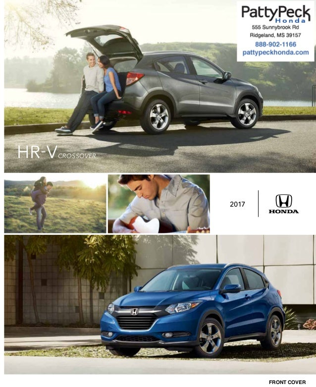 FRONT COVER 2017 HR VCROSSOVER
