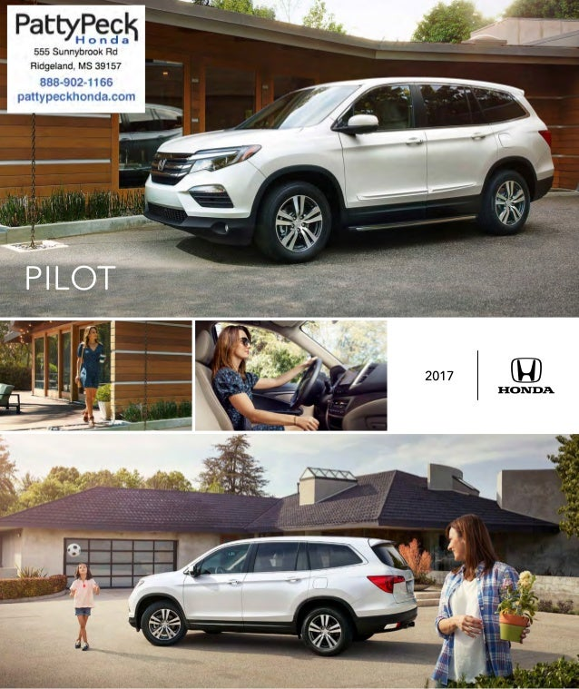 2017 honda pilot brochure jackson area honda dealer for Honda dealership jackson ms
