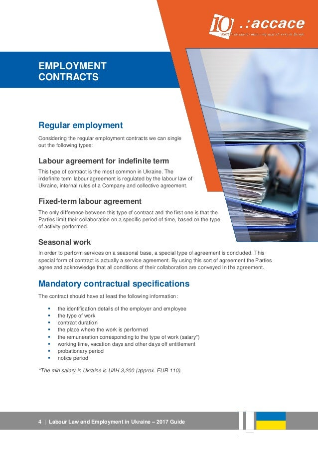 Types Of Employment Contracts Employment Contract Faqs Doc