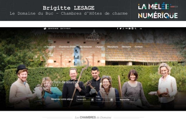Brigitte LESAGE Le Domaine du Buc – Chambres d'Hôtes de charme