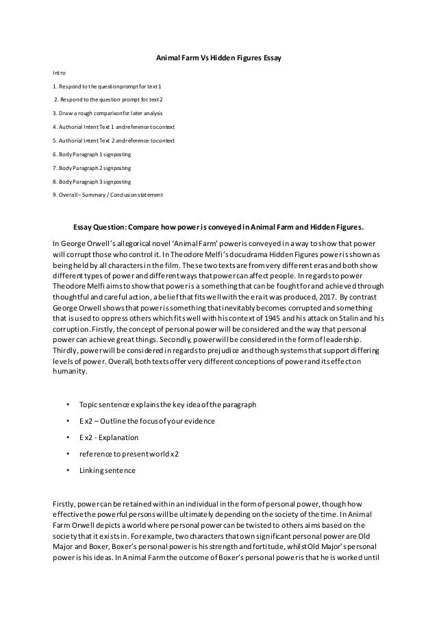 """animal farm 5 paragraph essay Pages:5 words:1125  napoleon and snowball, from the book animal farm by  george orwell, share many similar and different character  we will write a  custom essay sample on """"animal farm"""": compare and contrast specifically for  you."""