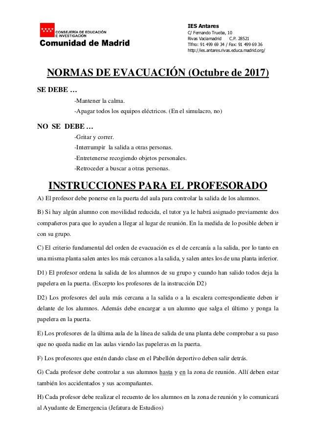 IES Antares C/ Fernando Trueba, 10 Rivas Vaciamadrid C.P. 28521 Tlfno: 91 499 69 34 / Fax: 91 499 69 36 http://ies.antares...