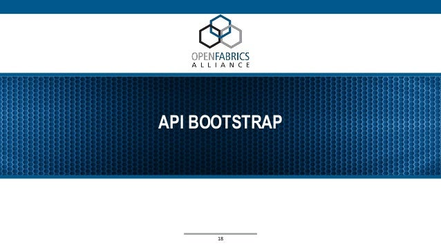API BOOTSTRAP 18