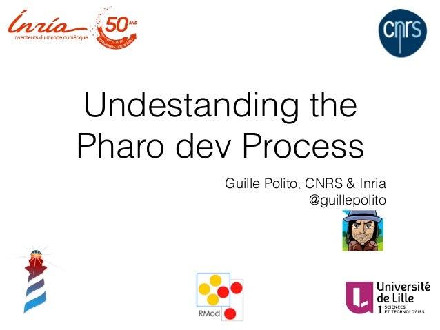 Undestanding the Pharo dev Process Guille Polito, CNRS & Inria @guillepolito