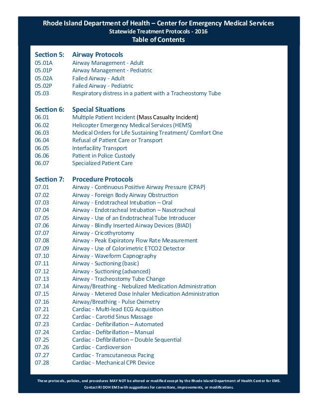 2017 RI EMS Statewide Protocols - 2017-01