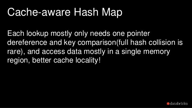 Recap: Cache-aware data structure How to improve cache locality … • store key-prefix with pointer. • store key full hash w...