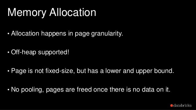 Why var-length page and no pooling? • Pros: • simplify the implementation. (no single record will across pages) • free mem...