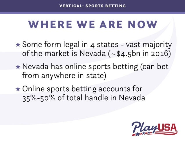 What's the current state of sports betting in the US?