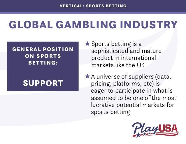 Market structure of the american gambling organization internet gambling legal or illegal