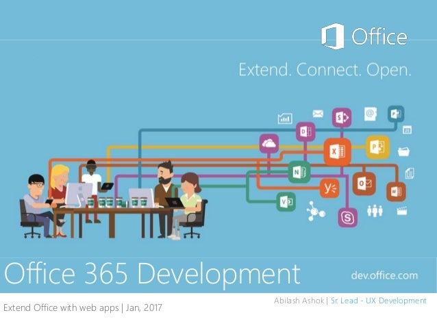 Office 365 development - Outlook Apps