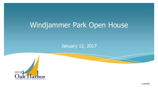 Windjammer Park Open House January 12, 2017 1/12/2017
