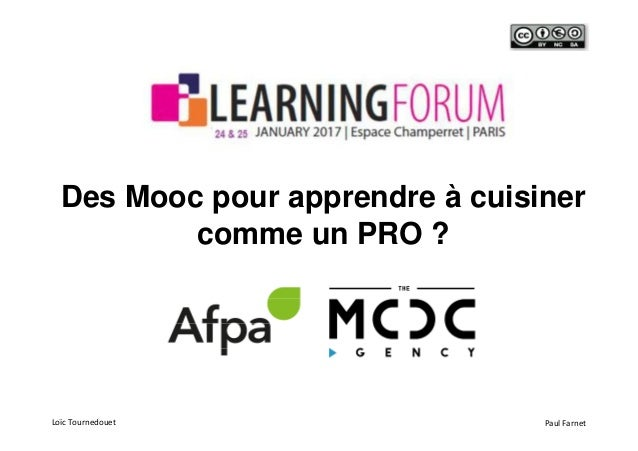 Rex mooc cuisine afpa i learning forum for Mooc cuisine 2017