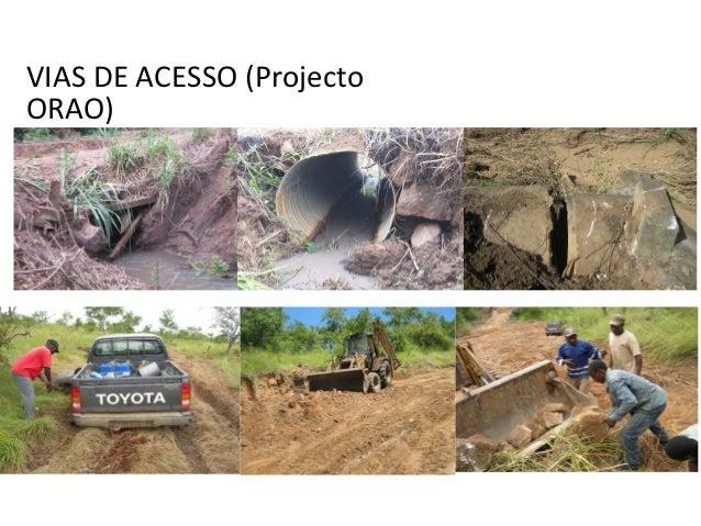 VIAS DE ACESSO (Projecto ORAO)