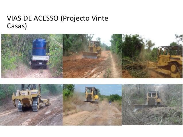 VIAS DE ACESSO (Projecto Vinte Casas)