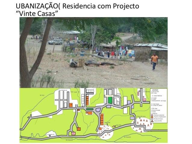 """UBANIZAÇÃO( Residencia com Projecto """"Vinte Casas"""""""