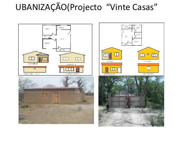 """UBANIZAÇÃO(Projecto """"Vinte Casas"""""""