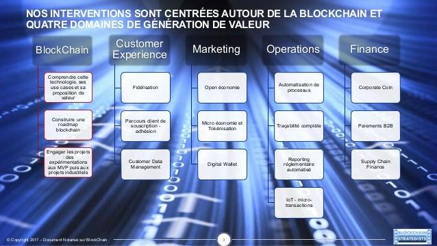 Pr sentation de blockchain strategists cabinet de conseil - Cabinet de conseil en strategie maroc ...