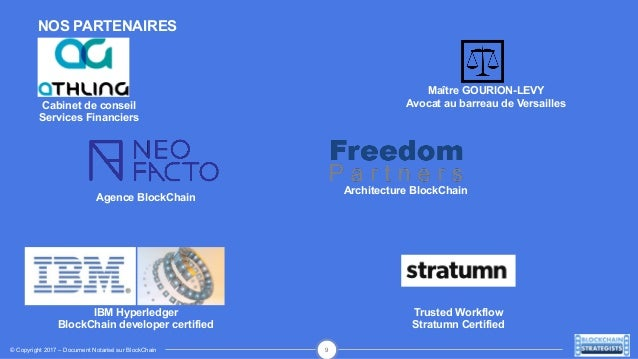 Pr sentation de blockchain strategists cabinet de conseil en strat g - Cabinet de conseil en organisation ...