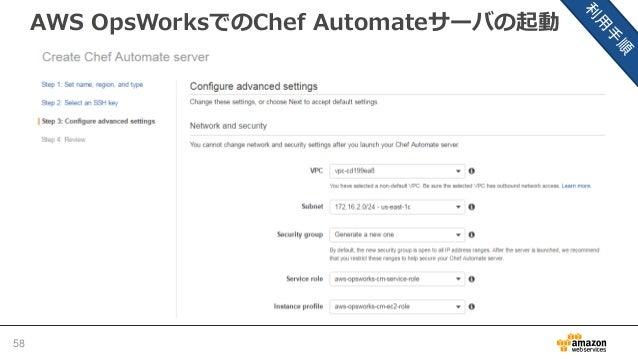 AWS OpsWorksでのChef Automateサーバの起動 59