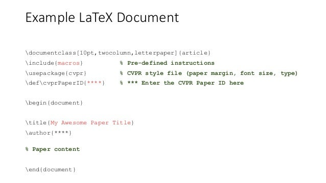 Research 101 paper writing with latex 12 example latex spiritdancerdesigns