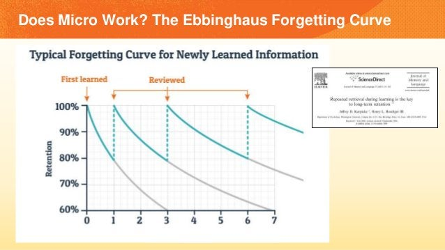 Does Micro Work? The Ebbinghaus Forgetting Curve