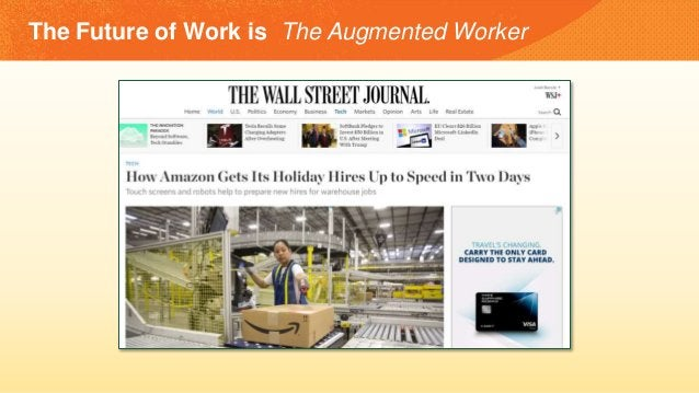 The Future of Work is The Augmented Worker