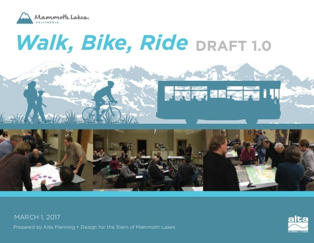 Mammoth Lakes - Walk, Bike, Ride - DRAFT 1 0 - Powered by Crowdbrite