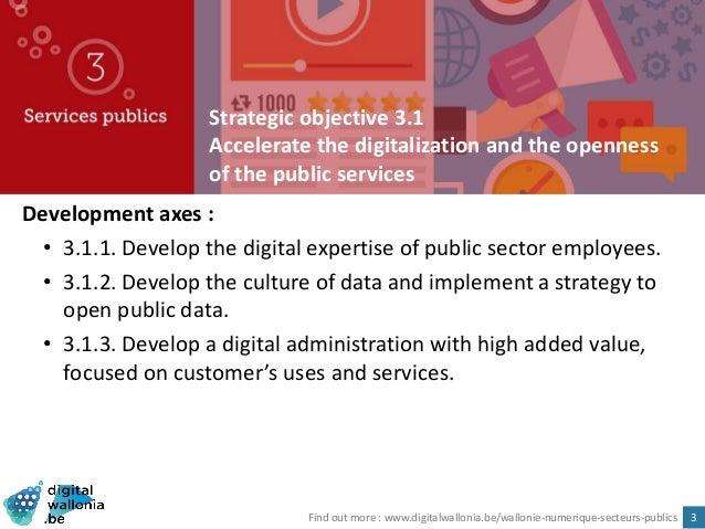 Digital Wallonia: Strategy for smart region Slide 3