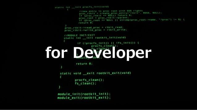 for Developer
