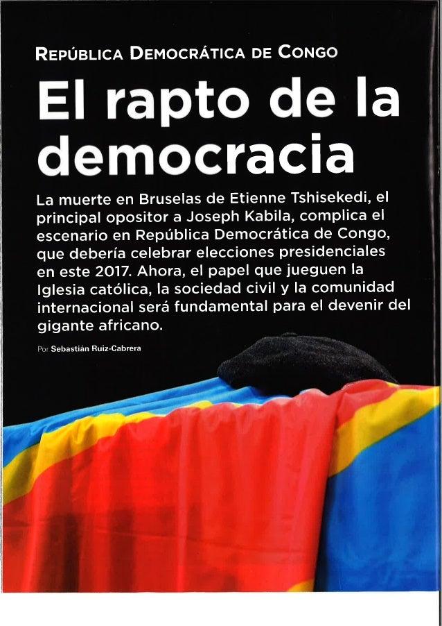 El rapto de la Democrácia- RDC