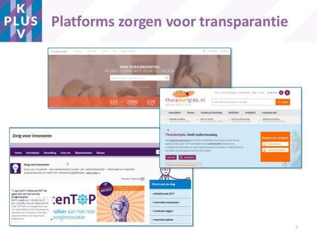 Platforms zorgen voor transparantie 5