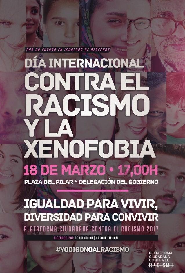 Día Internacional Contra El Racismo Y Xenofobia