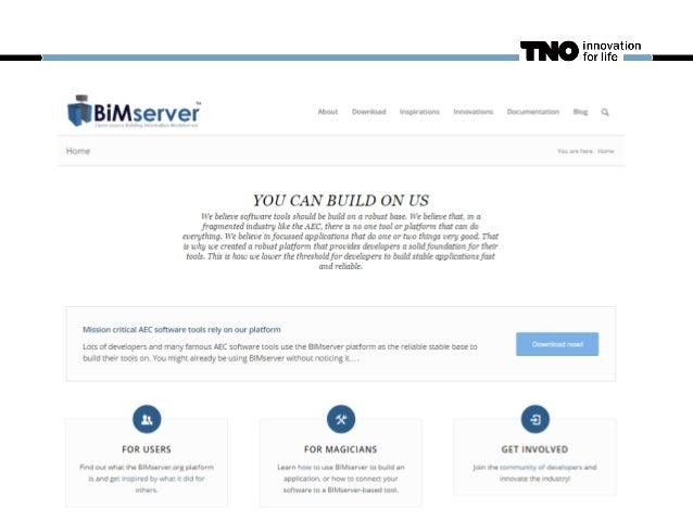 BIMSERVER = SOFTWARE IFC based database Plug-ins API / Connections