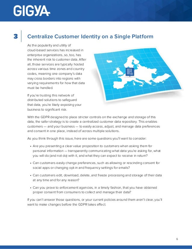 White Paper: GDPR - Three steps to protect your business