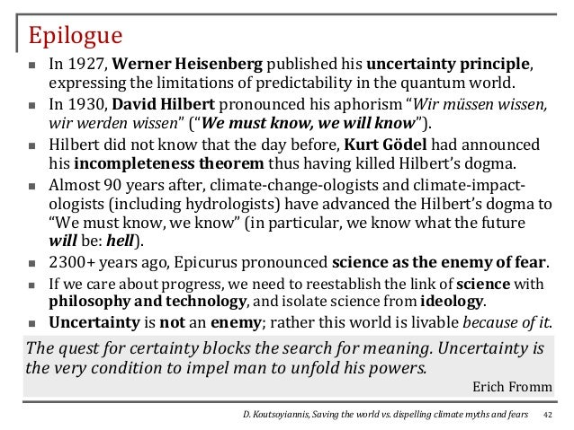 A philospher's reflections on AGW denial | Climate Etc