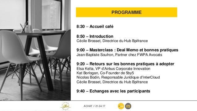 4 LES INTERVENANTS Jean-Baptiste Soufron, Partner chez FWPA Avocats • Actuellement Partner chez FWPA Avocats, Jean-Baptist...
