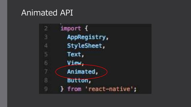 Animated API