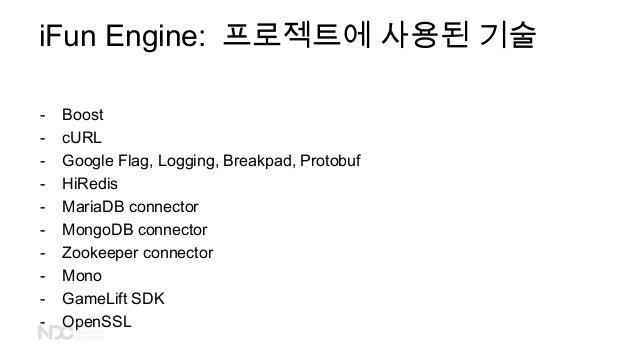 - Boost - cURL - Google Flag, Logging, Breakpad, Protobuf - HiRedis - MariaDB connector - MongoDB connector - Zookeeper co...